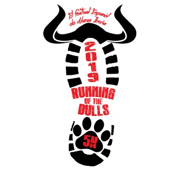 running of the bulls logo 2019
