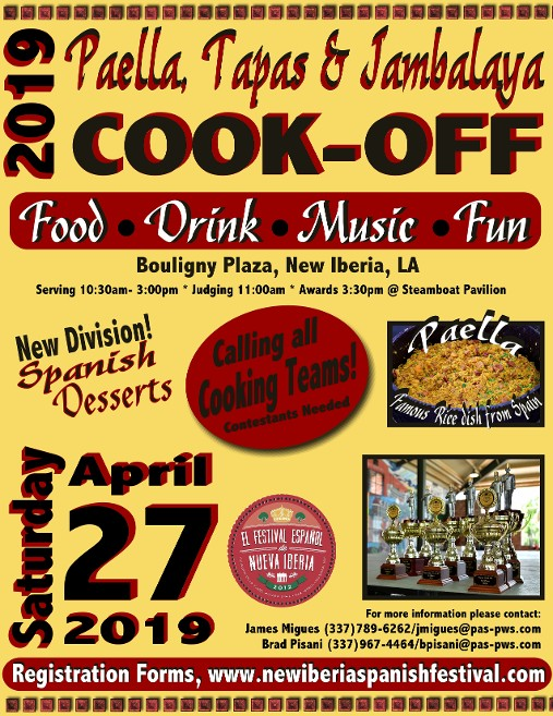 2019 Cook-off Flyer